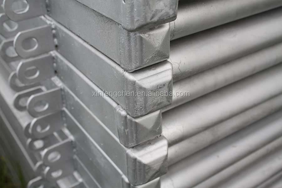 Galvanized steel gaot fence panel for sale