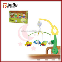 Wind up toy musical baby bed bell
