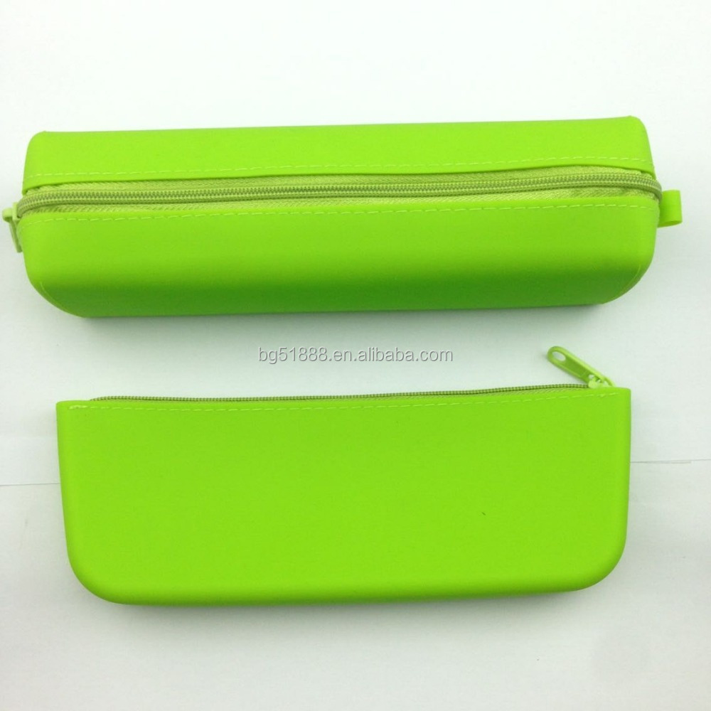 Custom 2 in 1 Zippper Pencil Pouch Case Set For College Students