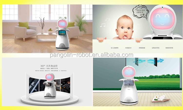 Children's Goods Shopping Robot Route Guiding Automatic Guiding Robot Navigation Voice Control Face Recognition