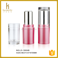 HOT SALE!Custom empty fancy pink lipstick tube for wholesale