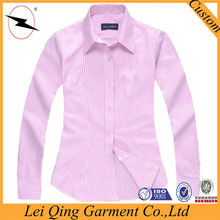 2016 Fashion pink formal office lady new designs color shirts women wear