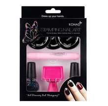 KONAD Stamping Nail Art Kit French Set