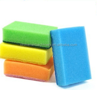 hot sale colorful sponge pads/kitchen scouring pad/decorative kitchen hot pads