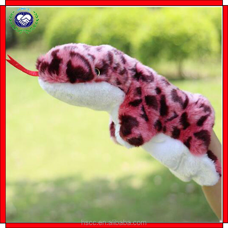 Factory supply 12 animals stuffed plush finger toy