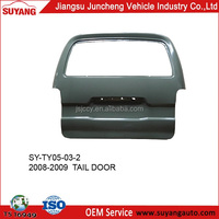 Car Parts Tail Door for Toyota Minibus Hiace 2008-2009