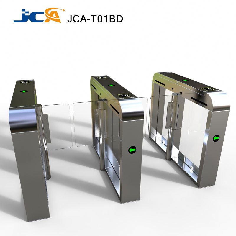 High Speed RFID Swing barrier/ Turnstile gate for Public pedestrain subway ,airport ,supermarket Access control