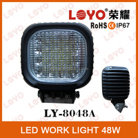 Guangzhou factory wholesale 48w work light led 12v car light led work light for ATV