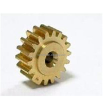 Customized CNC Cylindrical Small Brass Spur Gears for Machine