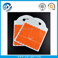 Wholesale Orange Plastic Bag Boutique Jewelry Wedding Christmas Gift Bags