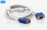 15M White VGA cable with blue model male to male