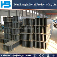 Steel structural Prefabricated galvanize I section steel h beam price