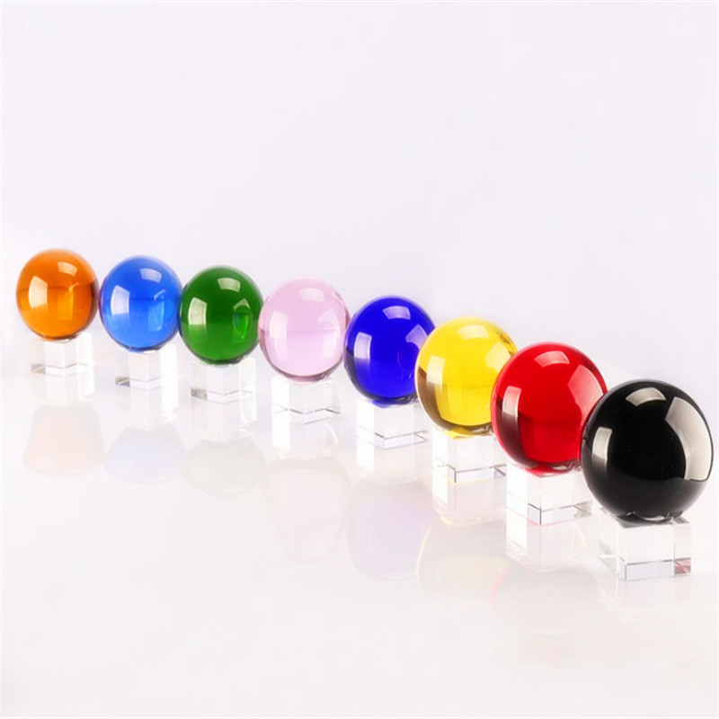 Promo nice pure customized clear crystal ball
