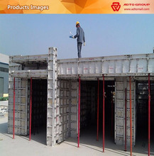 China manufacturer supplier formwork shuttering /aluminium formwork system / concrete form work