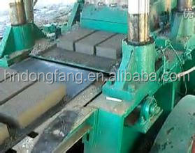 Brick machine Burn-free brick machine with low failure rate