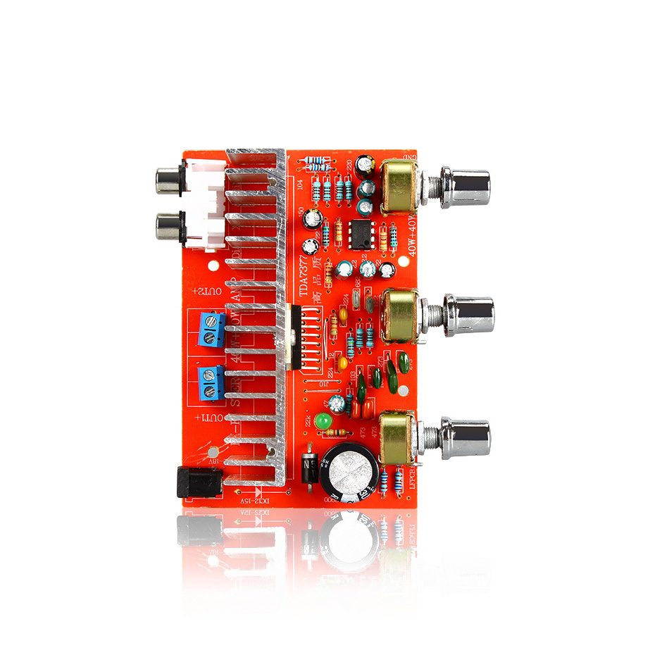 Wholesale Audio Power Ic Online Buy Best From China Kit Amplifier 100 Watt Mono Dc 12volt Tda 2003 40w Tda7377 Stereo Strongaudio Strong Strongpower