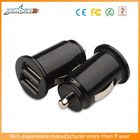 CE Approval USB Car Cigarette Lighter Charger/Mini Design Car Charger Adapter