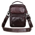 1010C JMD Tanned Genuine Leather Handbag Durable Leather Men's Messenger Bag