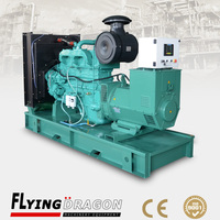 With cummins engine 200kw diesel generator price 6 cylinder electrical start stock for sale