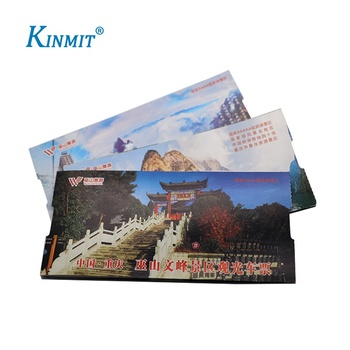Kinmit Factory Custom High Quality Event Ticket Printing With Serial Number Printing
