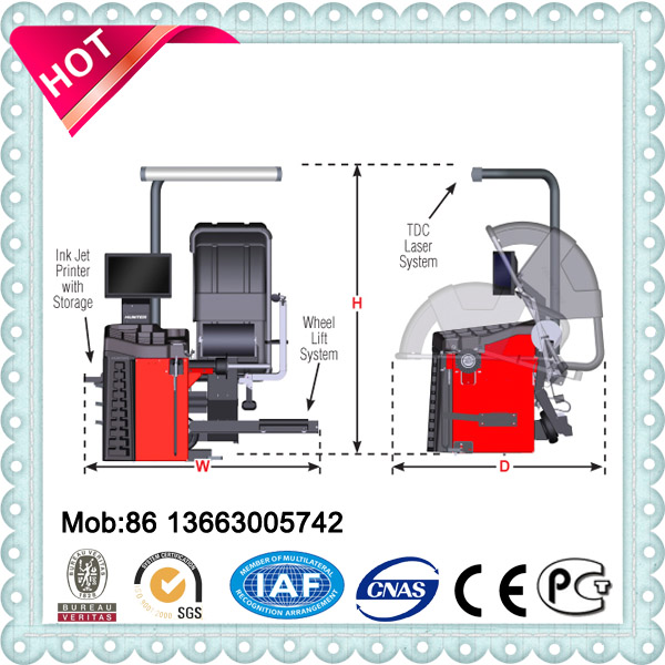3d wheel alignment machine price/wheel balancer/tire changer, car repair machine for sale