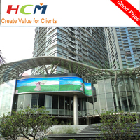 outdoor led display board price/smd led video display advertising screen for sale