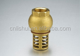 "3"" Brass Foot Valve"