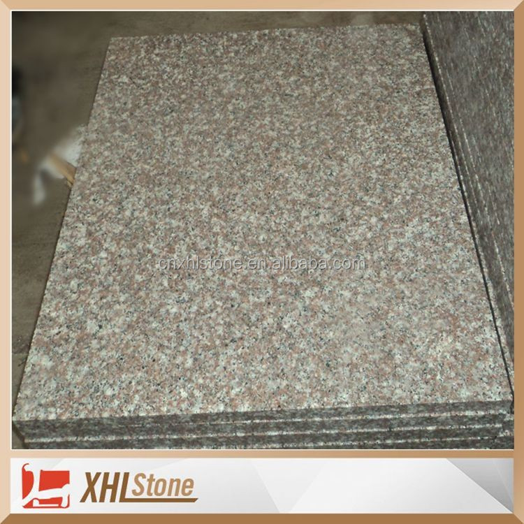 Flamed Misty Brown Black Spots Brown Granite G664 Cheap Granite Tile