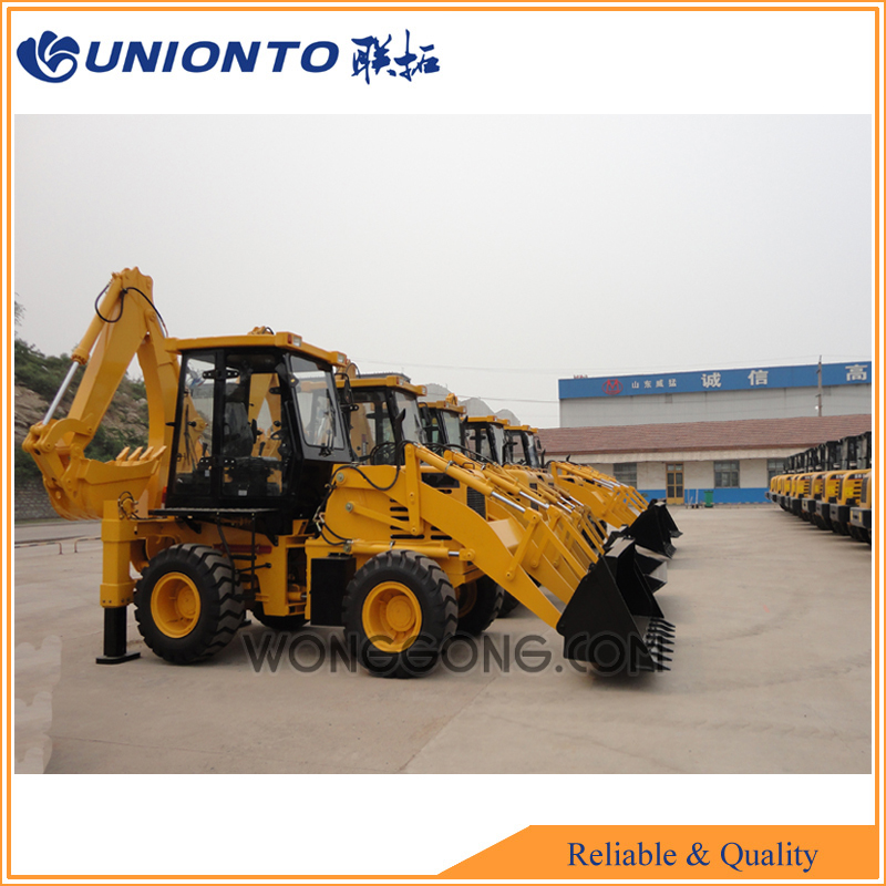 WZ30-25 China cheap articulated backhoe loader for sale