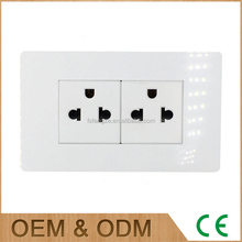 Popular 118 type electircal wall socket plug american wall socket outlet