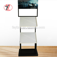 Chinese manufacturer direct sale high quality metal carpet pad racks for carpet/fabic retailers