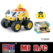 Hot selling rc car 4wd monster truck 4 channel musical rc car for sale