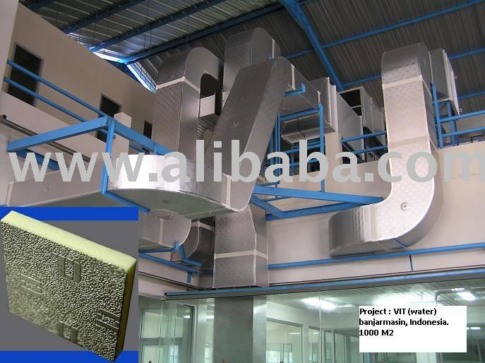 Pre Insulated Aluminium Composite PU (Polyurethane) Air Duct Panel (Commercial Grade)