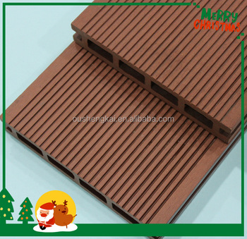 Plastic wood boards wpc fence panel