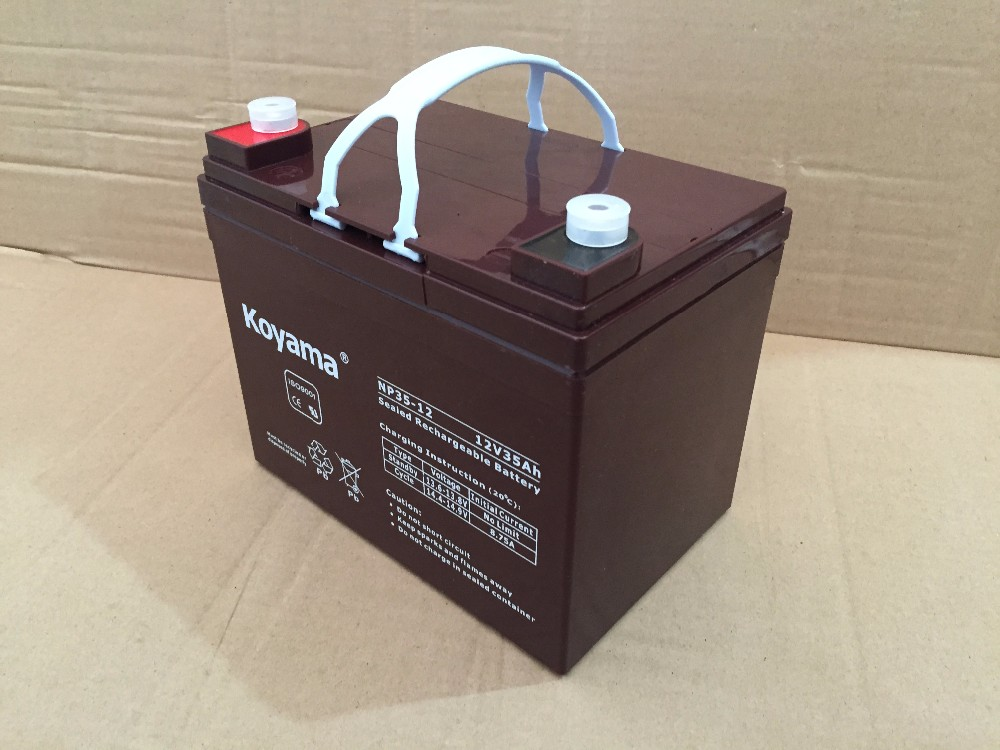 AGM UPS Battery 12V 35AH recargeable lead acid battery