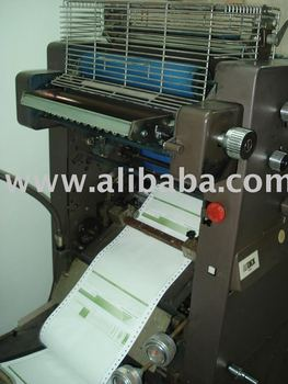 AB DICK 9000 PACK TO PACK CONTINUOS FORMS OFFSET PRINTING PRESS