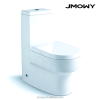 washroom one piece washdown siphonic toilet