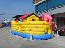 2015 hot commercial noah's ark inflatable bounce house