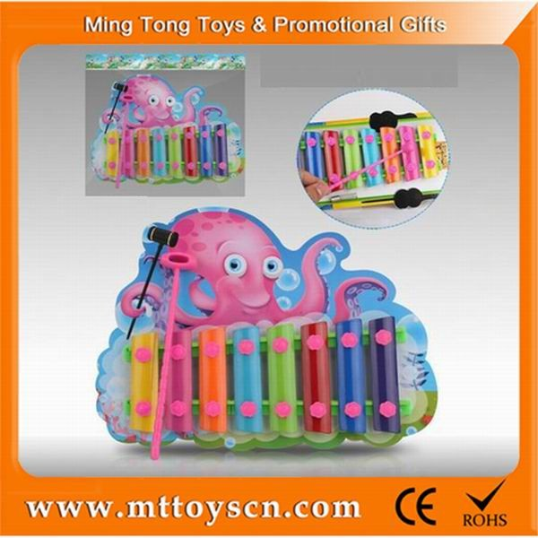 Cartoon characters mini xylophone