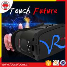 VR case 2.0 upgrade version all in one vr glasses VR CASE RK-A1 with touchpad remote control