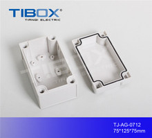 thin plastic electric main plastic switch button box