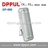 2016 portable rechargeable emergency Double fluorescent tube DP690
