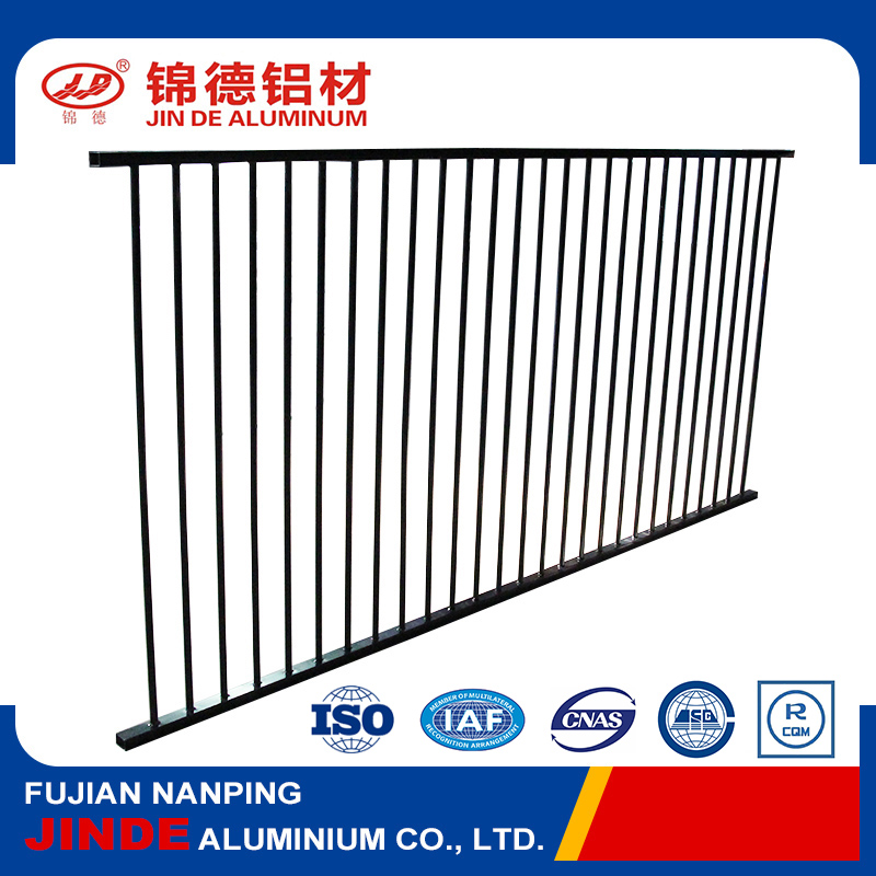 Factory quality aluminum fence for garden