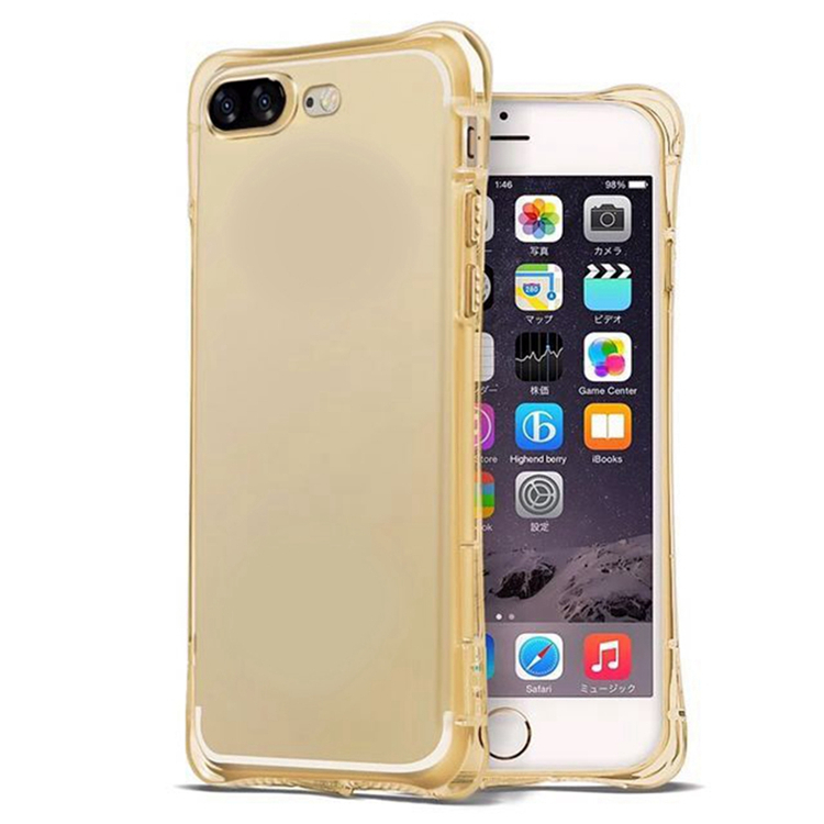 Transparent Air Cushion Mobile Phone Case Soft TPU Protective Shock-Proof Back Cover for Iphone 5s 6 7