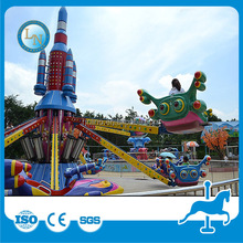 Stay cool with us!!! outdoor amusement equipment children park rides Kids rotary airplane