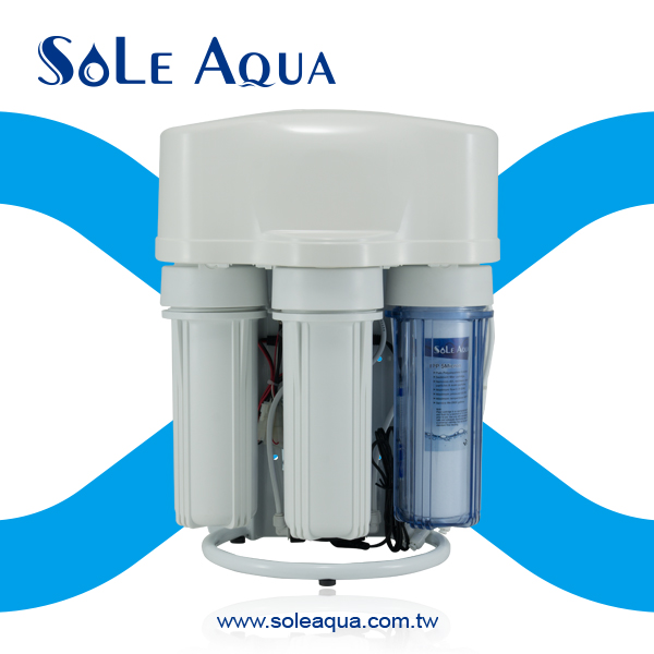 Home pure water filtration and reverse osmosis water filter
