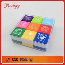 Lovely Mini stamp for kids print images ART toy stamp