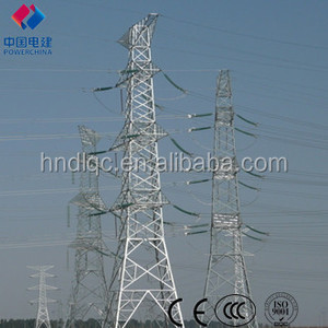 330KV Electricity Transmission Steel Angle Tower