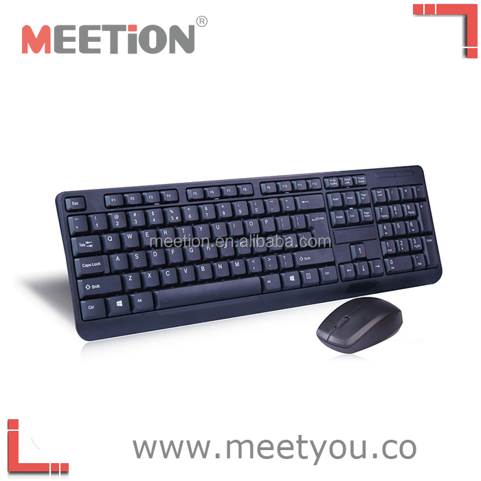 the lastest 2.4G wireless computer keyboard and mouse for both office and living using