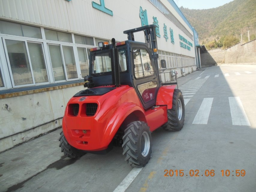 Samuk 4x4 manitou technology forklift imported engine